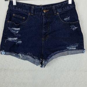 ⭕ 3/$30 High Sierra | High Waist Cuffed Shorts 25